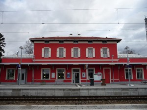 Bahnsteigseite