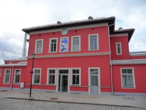 Ostfassade am Bahnhofplatz