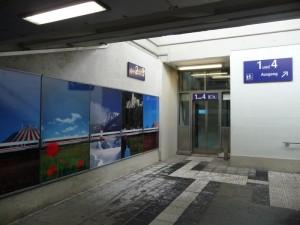 Barrierefreier Bahnsteigzugang